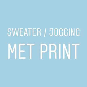 Sweater/Jogging met print