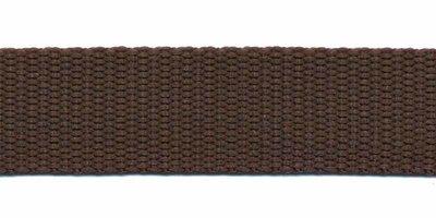 Tassenband 20mm bruin