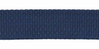 Tassenband 20mm donker blauw
