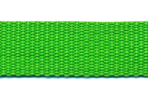 Tassenband 20mm gifgroen