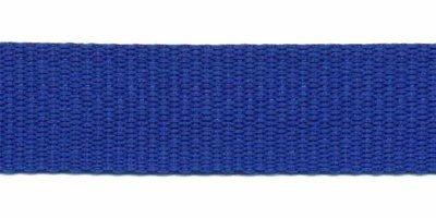 Tassenband 20mm kobalt blauw
