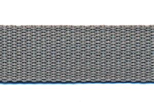 Tassenband 20mm licht grijs