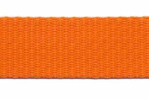 Tassenband 20mm oranje