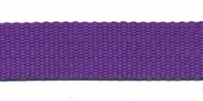 Tassenband 20mm paars