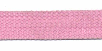 Tassenband 20mm roze