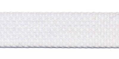 Tassenband 20mm wit