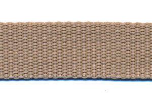Tassenband 20mm Zand