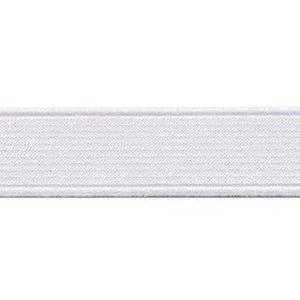 elastiek wit 20mm