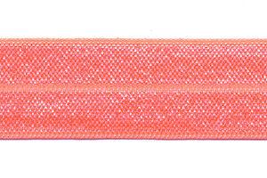 Elastisch Biaisband 20mm peach perzik