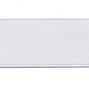 elastiek wit 40mm